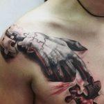 фото тату пазл - головоломка от 02.05.2018 №133 - tattoo puzzle - picture - tatufoto.com
