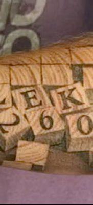 фото тату пазл – головоломка от 02.05.2018 №172 – tattoo puzzle – picture – tatufoto.com
