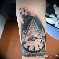 Значение тату часы и пирамида