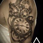 фото тату часы от 07.05.2018 №015 - tattoo watch - tatufoto.com