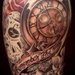 фото тату часы от 07.05.2018 №020 - tattoo watch - tatufoto.com
