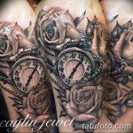 фото тату часы от 07.05.2018 №024 - tattoo watch - tatufoto.com
