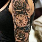 фото тату часы от 07.05.2018 №025 - tattoo watch - tatufoto.com