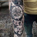 фото тату часы от 07.05.2018 №027 - tattoo watch - tatufoto.com