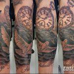 фото тату часы от 07.05.2018 №032 - tattoo watch - tatufoto.com