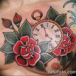 фото тату часы от 07.05.2018 №034 - tattoo watch - tatufoto.com