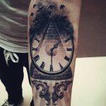фото тату часы от 07.05.2018 №039 - tattoo watch - tatufoto.com