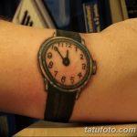 фото тату часы от 07.05.2018 №044 - tattoo watch - tatufoto.com