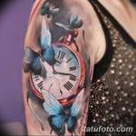 фото тату часы от 07.05.2018 №051 - tattoo watch - tatufoto.com