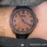 фото тату часы от 07.05.2018 №052 - tattoo watch - tatufoto.com