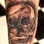 фото тату часы от 07.05.2018 №055 - tattoo watch - tatufoto.com