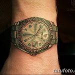 фото тату часы от 07.05.2018 №057 - tattoo watch - tatufoto.com