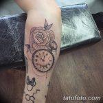 фото тату часы от 07.05.2018 №063 - tattoo watch - tatufoto.com