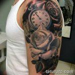 фото тату часы от 07.05.2018 №064 - tattoo watch - tatufoto.com