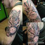 фото тату часы от 07.05.2018 №067 - tattoo watch - tatufoto.com