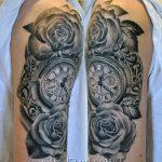 фото тату часы от 07.05.2018 №067 - tattoo watch - tatufoto.com 3463453 346