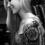 фото тату часы от 07.05.2018 №070 - tattoo watch - tatufoto.com