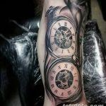фото тату часы от 07.05.2018 №077 - tattoo watch - tatufoto.com