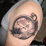 фото тату часы от 07.05.2018 №085 - tattoo watch - tatufoto.com