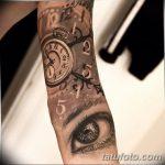 фото тату часы от 07.05.2018 №090 - tattoo watch - tatufoto.com