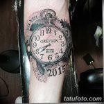 фото тату часы от 07.05.2018 №091 - tattoo watch - tatufoto.com