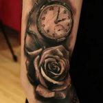 фото тату часы от 07.05.2018 №097 - tattoo watch - tatufoto.com