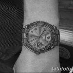 фото тату часы от 07.05.2018 №099 - tattoo watch - tatufoto.com