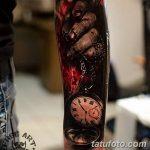 фото тату часы от 07.05.2018 №101 - tattoo watch - tatufoto.com