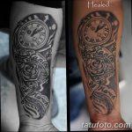 фото тату часы от 07.05.2018 №102 - tattoo watch - tatufoto.com