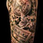 фото тату часы от 07.05.2018 №115 - tattoo watch - tatufoto.com