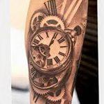 фото тату часы от 07.05.2018 №124 - tattoo watch - tatufoto.com