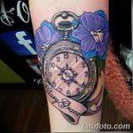 фото тату часы от 07.05.2018 №135 - tattoo watch - tatufoto.com