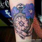 фото тату часы от 07.05.2018 №137 - tattoo watch - tatufoto.com