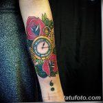фото тату часы от 07.05.2018 №151 - tattoo watch - tatufoto.com