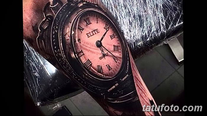 фото тату часы от 07.05.2018 №152 - tattoo watch - tatufoto.com