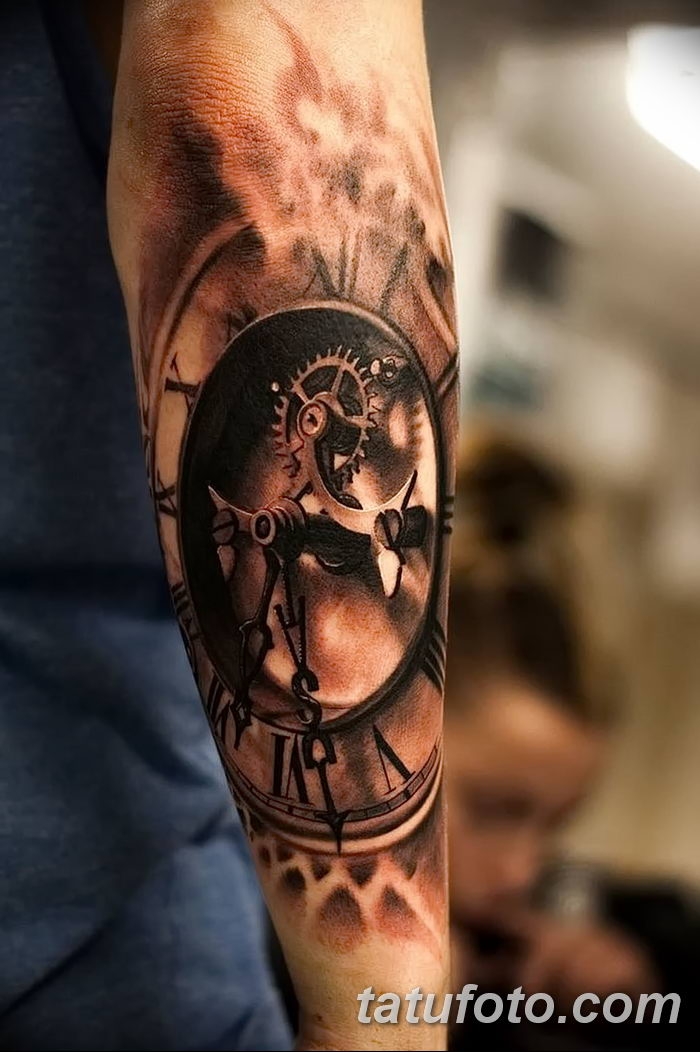 фото тату часы от 07.05.2018 №154 - tattoo watch - tatufoto.com