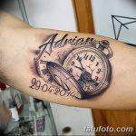 фото тату часы от 07.05.2018 №159 - tattoo watch - tatufoto.com