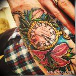 фото тату часы от 07.05.2018 №181 - tattoo watch - tatufoto.com