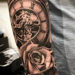 фото тату часы от 07.05.2018 №182 - tattoo watch - tatufoto.com