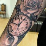 фото тату часы от 07.05.2018 №183 - tattoo watch - tatufoto.com
