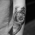 фото тату часы от 07.05.2018 №198 - tattoo watch - tatufoto.com