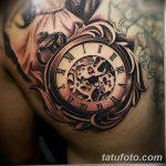 фото тату часы от 07.05.2018 №202 - tattoo watch - tatufoto.com