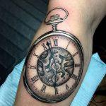 фото тату часы от 07.05.2018 №208 - tattoo watch - tatufoto.com