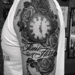 фото тату часы от 07.05.2018 №210 - tattoo watch - tatufoto.com