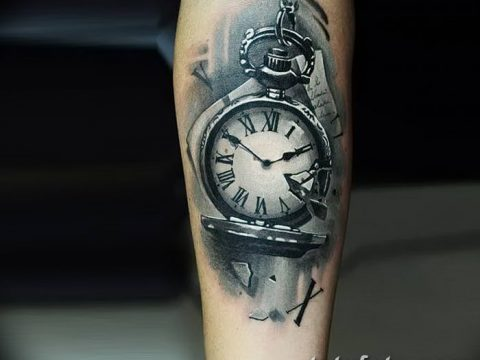 фото тату часы от 07.05.2018 №238 - tattoo watch - tatufoto.com