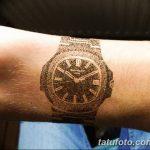 фото тату часы от 07.05.2018 №239 - tattoo watch - tatufoto.com
