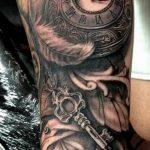 фото тату часы от 07.05.2018 №240 - tattoo watch - tatufoto.com