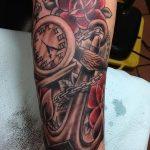 фото тату часы от 07.05.2018 №246 - tattoo watch - tatufoto.com