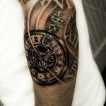 фото тату часы от 07.05.2018 №249 - tattoo watch - tatufoto.com
