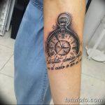 фото тату часы от 07.05.2018 №253 - tattoo watch - tatufoto.com